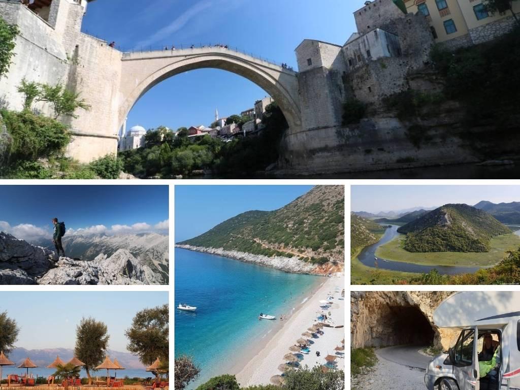 Bilder des Balkan