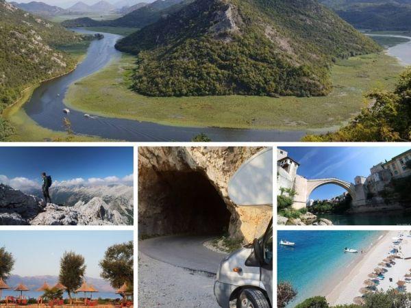 mehrere Bilder vom Balkan