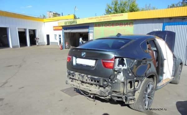 Кузовной ремонт БМВ X6 в СВАО