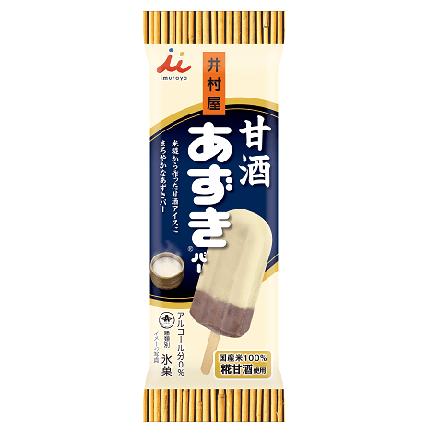 井村屋甘酒あずきバーの発売日や値段が気になる!内容量や味なども検証!