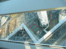 WTCから見たテニスコート