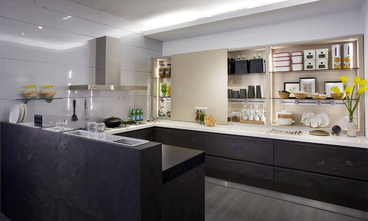 small kitchen bar backsplash 精致小厨房 万元为你轻松打造 京东 小厨房