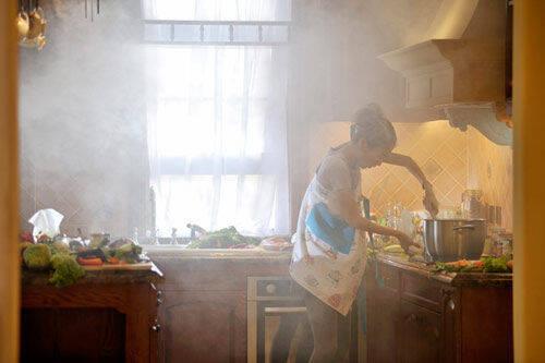 summer kitchens slate kitchen floor 夏天下厨真要命 厨房降温这有小妙招 京东 怎样才能给夏天的厨房降温呢