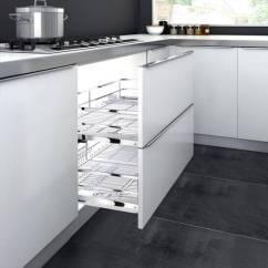 Complete Kitchen Table Storage 感觉家里的厨房很窄 那是因为你少了神器 京东 厨房神器