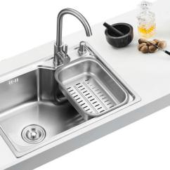 Small Kitchen Sinks Peerless Faucet 小厨房大健康 关于水槽的那些事 京东 大到橱柜 油烟机 燃气灶 小到餐具 刀具 都是精挑细选 无不体现着厨房的重要性 但是 你可能会遗忘了一样重要的东西 水槽 一直以来 水槽被誉为厨房的心脏 据