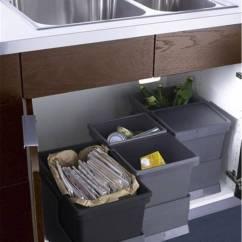 Kitchen Trash Can Pull Out Polished Brass Faucet 想要厨房干净整洁 这些垃圾收纳技巧学起来 京东 也可以多放几个垃圾桶 这样可以给垃圾进行分类 为了避免垃圾弄脏橱柜底部 还可以给垃圾桶设计一个底座 这样就不会弄脏橱柜啦