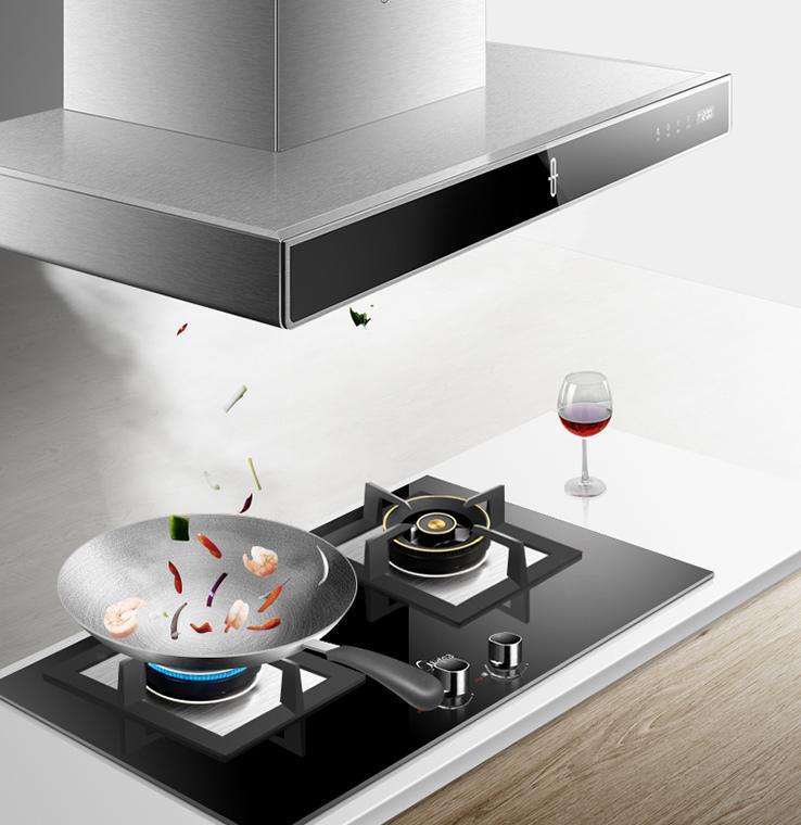 kitchen ventilator wall rack 换上这台油烟机 还你一个畅快呼吸的厨房 京东 担心油烟不易清洗 这台油烟机有智能的净烟机器人拥有强大的自净功能 一键开启 15分钟让烟机焕然如新 油烟机厨房