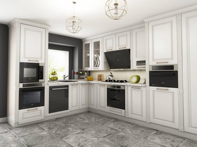viking outdoor kitchen cheap ideas 打造嵌入式厨房 处女座吃货都无可挑剔 京东 其实 漂亮简洁的厨房装修方案 和诸多的厨房大家电并不相冲突 只需要将厨房的家电们 藏 起来 要用的时候再找到他们即可 而让家电们 起来的最佳方案 无疑是嵌入
