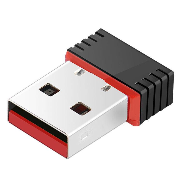 無線網卡 迷你USB無線網卡隨身wifi接收器信號發射器黑色【圖片 價格 品牌 評論】-京東