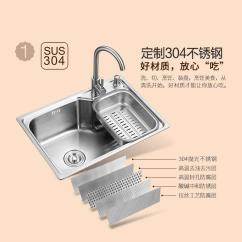 Small Kitchen Sinks Glass Backsplashes For Kitchens 小厨房大健康 关于水槽的那些事 京东 大水槽
