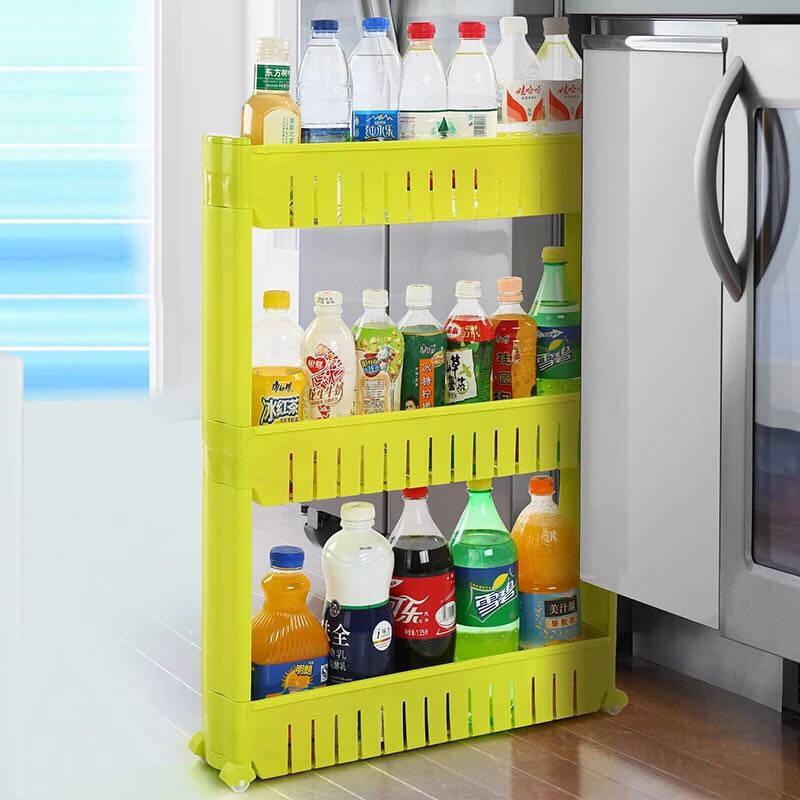 kitchen swags pantry cabinets for 这些井井有条的实用收纳 让你爱上下厨房 京东 夹缝置物架 每个厨房基本都会有一些夹缝 比如冰箱跟墙壁之间 或者灶台与立柜之间 这些夹缝不仅不美观而去还容易积攒赃物 这时候放置一个夹缝收纳架就能完美的废物