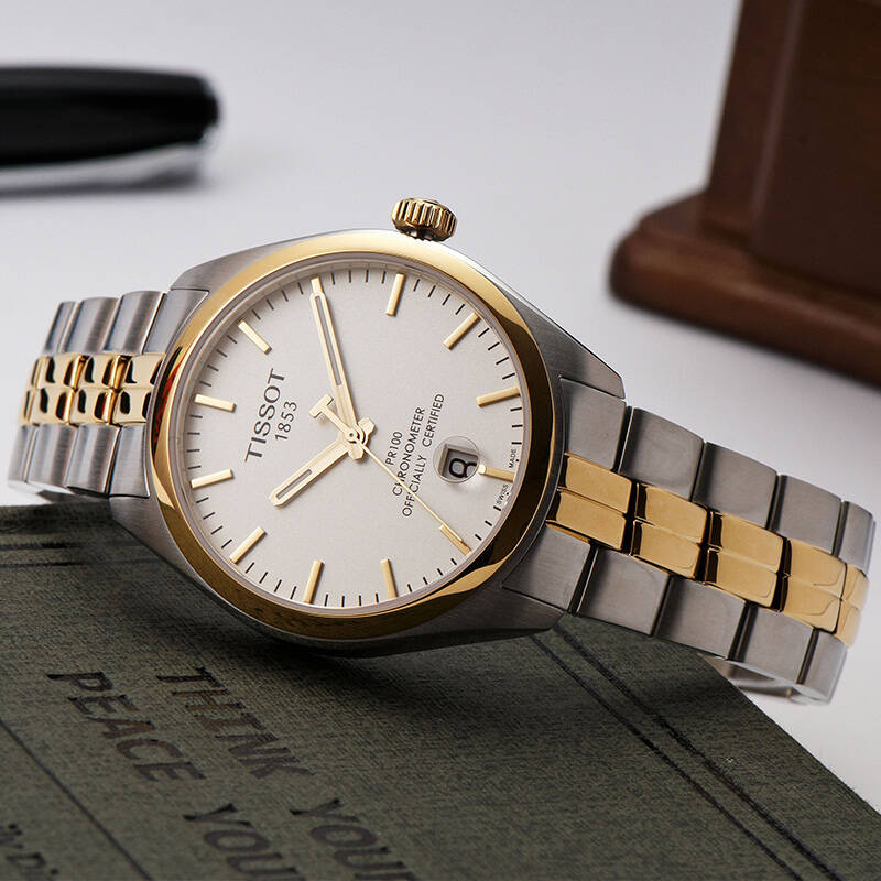 天梭(tissot)手表pr100系列石英男士手表t101.451.22