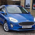 Used Ford Fiesta Hatchback 1 0t Ecoboost Titanium Auto S S 5dr In Halifax West Yorkshire Pellon Motor Group