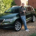 White Skoda Karoq Used Cars For Sale Autotrader Uk