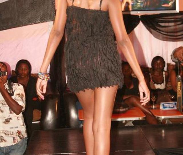 See Through Black Short Dress