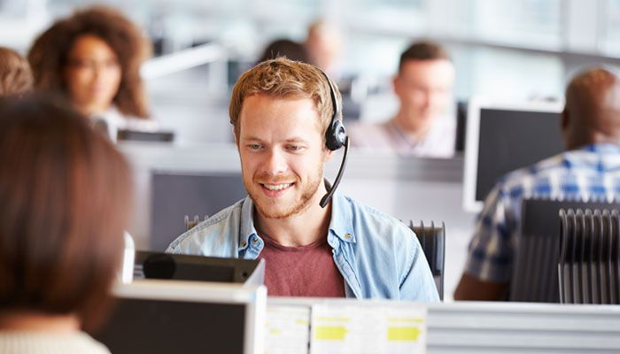 Image result for working in a bank call centre