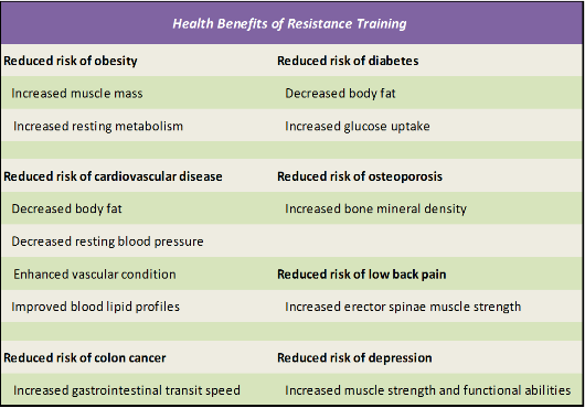 Image result for summary of adaptations to aging and resistance training