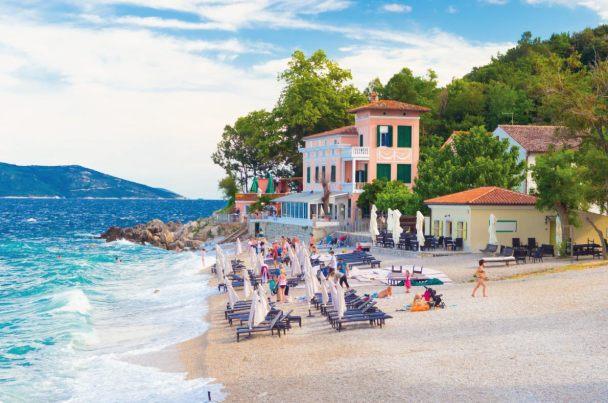 Európa 12 legkedveltebb tengerpartja - Moscenicka Draga Beach, Horvátország