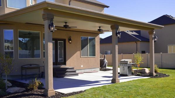 stucco trim patio covers in utah boyd