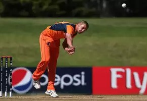 Vivian Kingma defended just seven runs in the final to eliminate Malaysia