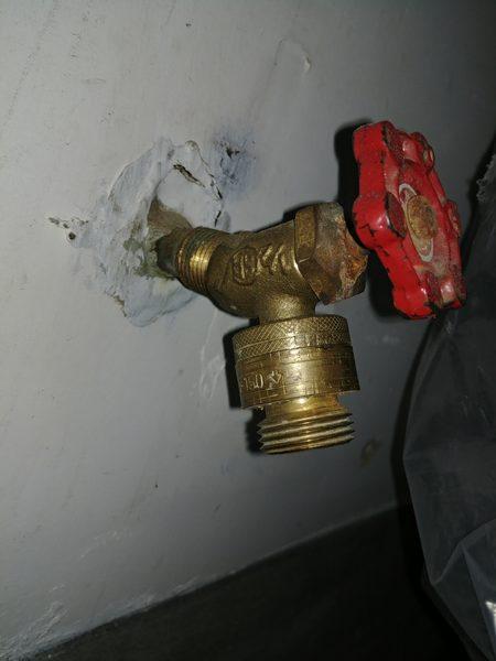 vacuum breaker on garage faucet