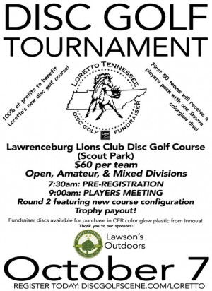 Loretto Course Fundraiser BYOP Doubles! (2017, Lawrence