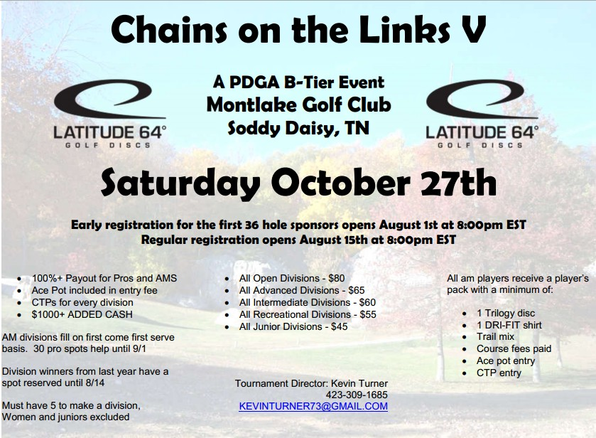 chains on the links