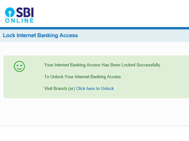 Sbi Net Banking Fraud Now You Can Lock Your Sbi Net Banking Access To Prevent Frauds