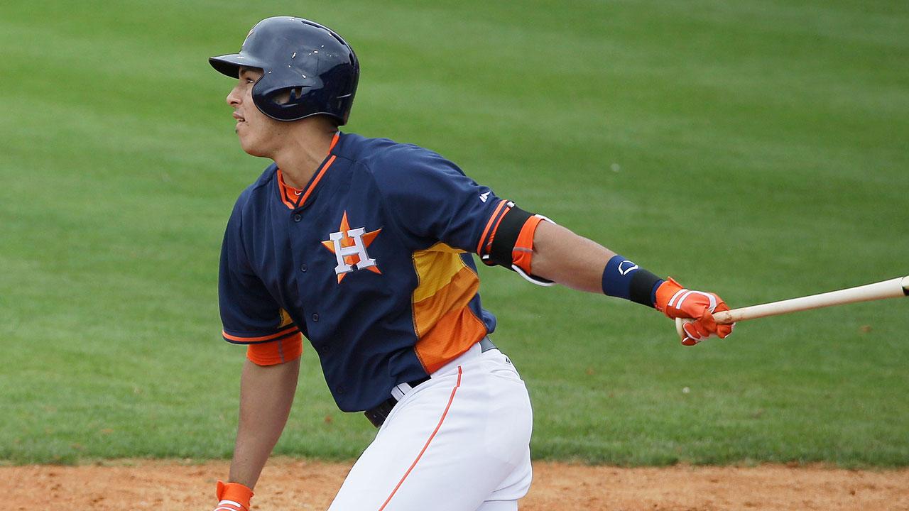 Carlos Correa dejó grata impresión en los Astros