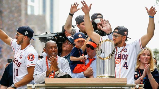 Houston esperó 56 años para celebrar un campeonato de los Astros