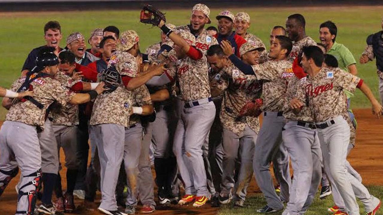 Los Tigres de Aragua se coronan campeones en Venezuela