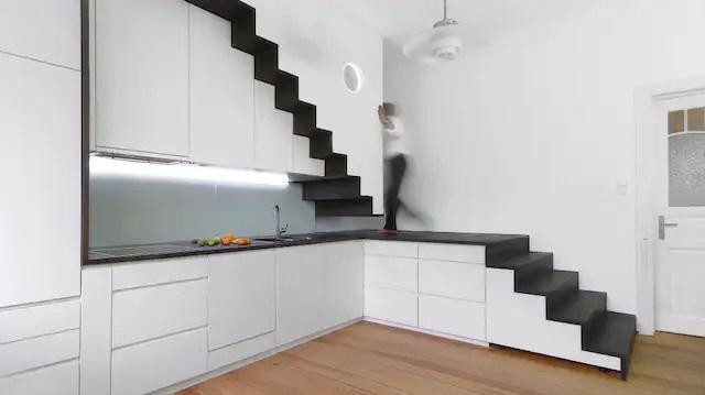 Wie Bauherren die Treppe geschickt in den Grundriss
