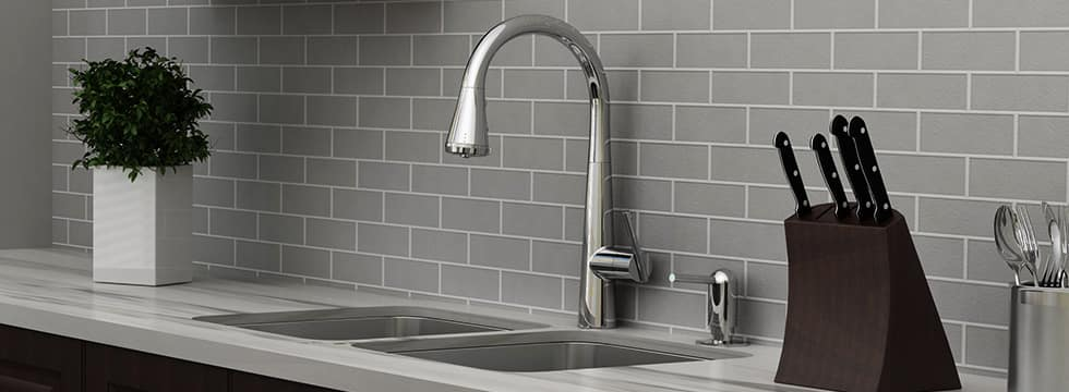 kitchen faucets tile floors in best pull down that won t break the bank ferguson