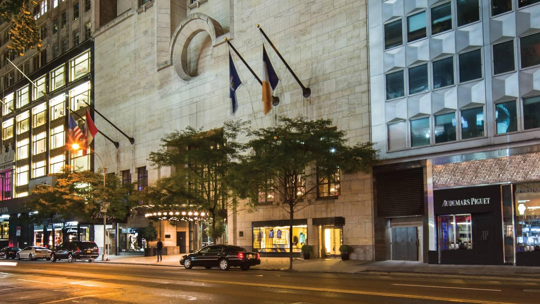 Luxury Hotel Nyc 5 Star Manhattan Hotel Four Seasons New