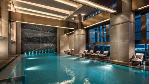 Shenzhen Hotel Indoor Pool Four Seasons Hotel Shenzhen