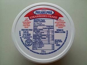 Philadelphia Light Strawberry Cream Cheese - Photo