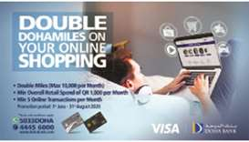 Gulftimes Doha Bank Unveils Miles Campaign For Online Spends