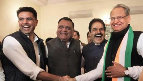 Assembly election results 2018: Sachin Pilot, Ashok Gehlot on ...