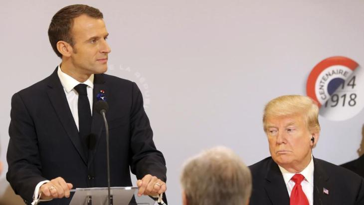 Image result for macron speech on nationalism