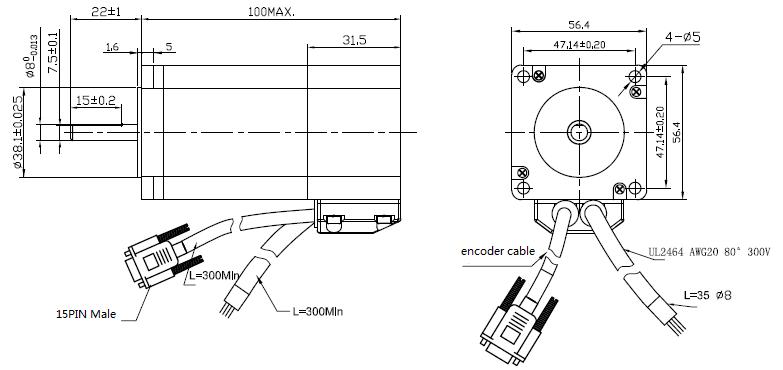 Motor Encoder Wiring