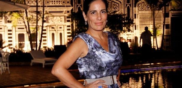 Glória Pires na apresentação da novela Insensato Coração, no Rio (5/1/2011)