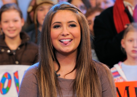Bristol Palin no programa Good Morning America em Nova York (24/11/2010)