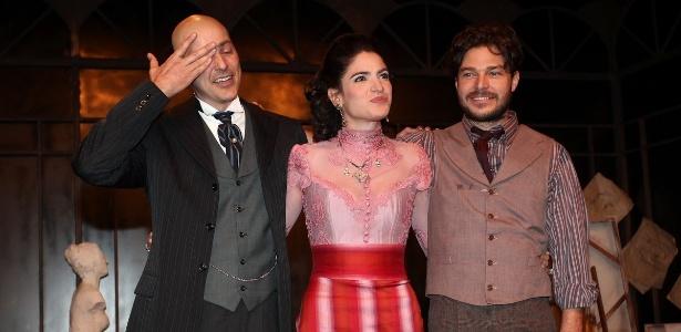 "Reynaldo Gianecchini se emociona no final de ""Cruel"""