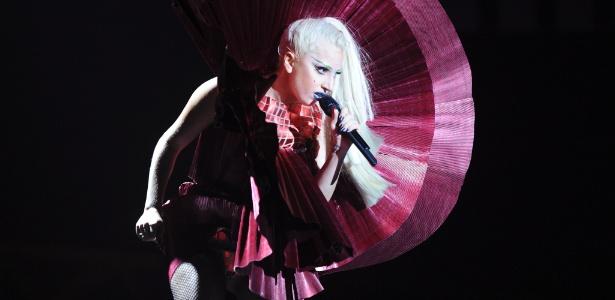 Lady Gaga durante premiação do EMA MTV Europe Music Awards em Belfast, na Irlanda do Norte (06/11/2011)