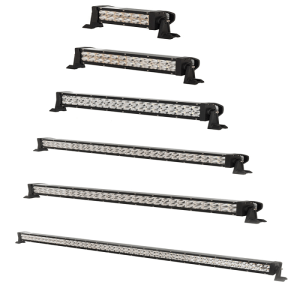 3W Cree Chips Screw Type Double Row LED Light Bar