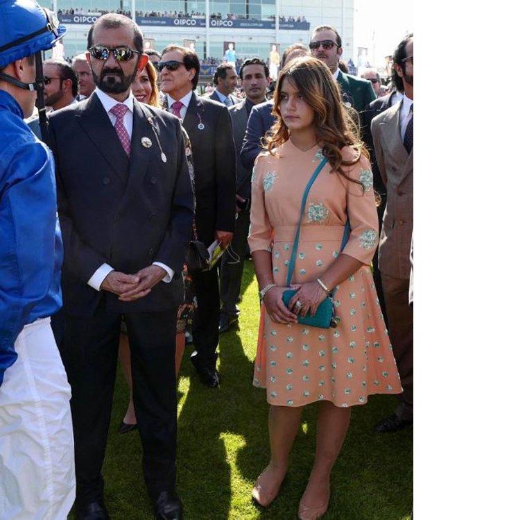 أناقة الأميرة هيا بنت الحسين انتقلت إلى ابنتها الشيخة
