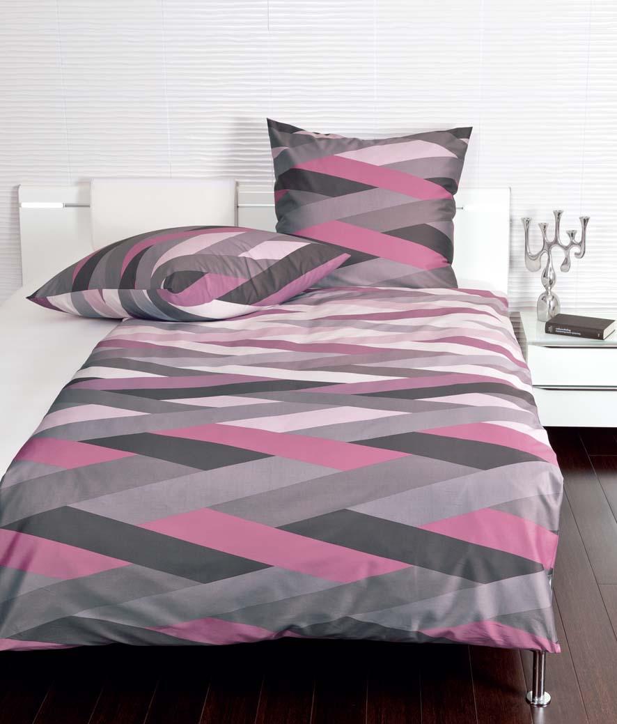 Bettwäsche Schwarz Pink Bettwäsche Dots