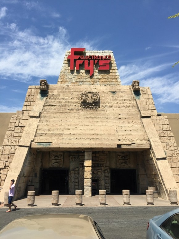 Fry's Temple