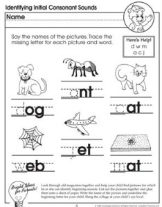 Identifying initial consonant sounds missing letters free english worksheet for kids also  letter rh jumpstart