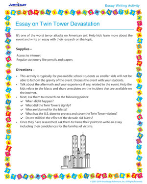 Twin Towers Essay Essay Bcowell Police Foundation Page Scholarship